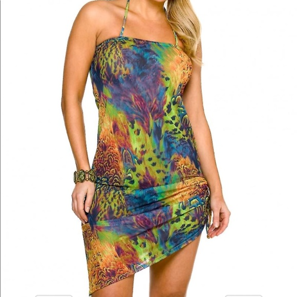 492e6463c040b TAN THRU Kiniki Amalfi swim dress